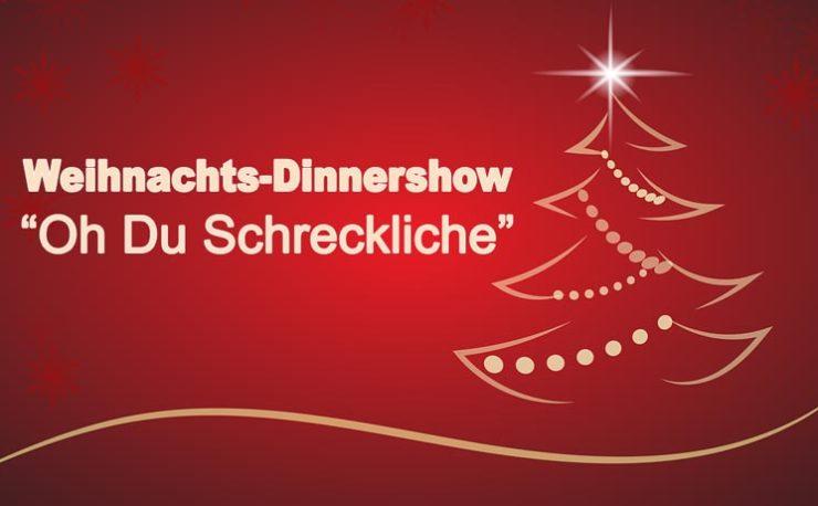 Weihnachten Dinnershow Leipzig